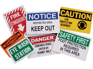 Safety Signs & Supplies