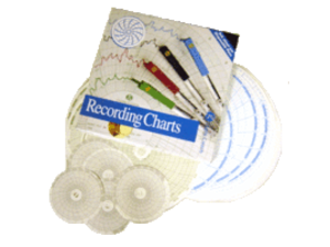 Recorder Charts & Disposable Pens