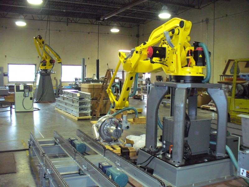 Fanuc Robotics integration assembly department